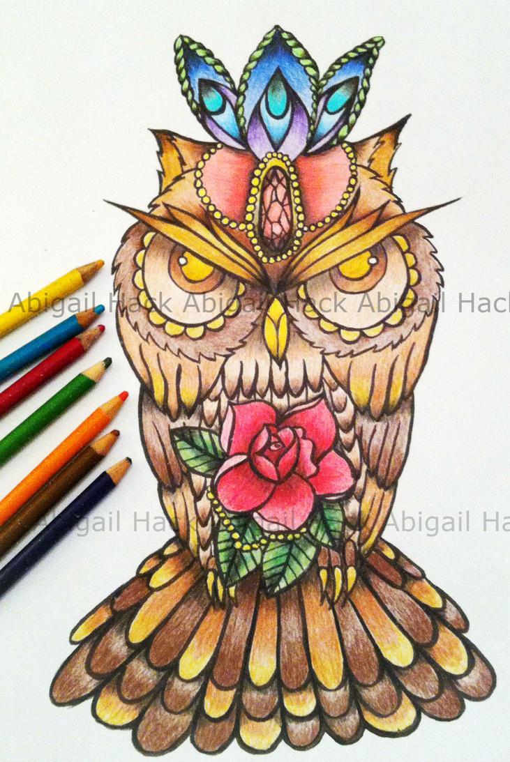 Owl Book Machine Embroidery Designs