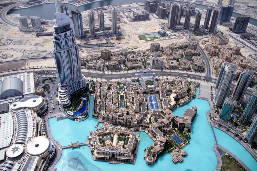 Dubai Burj Khalifa Top View 01 by GiardQatar