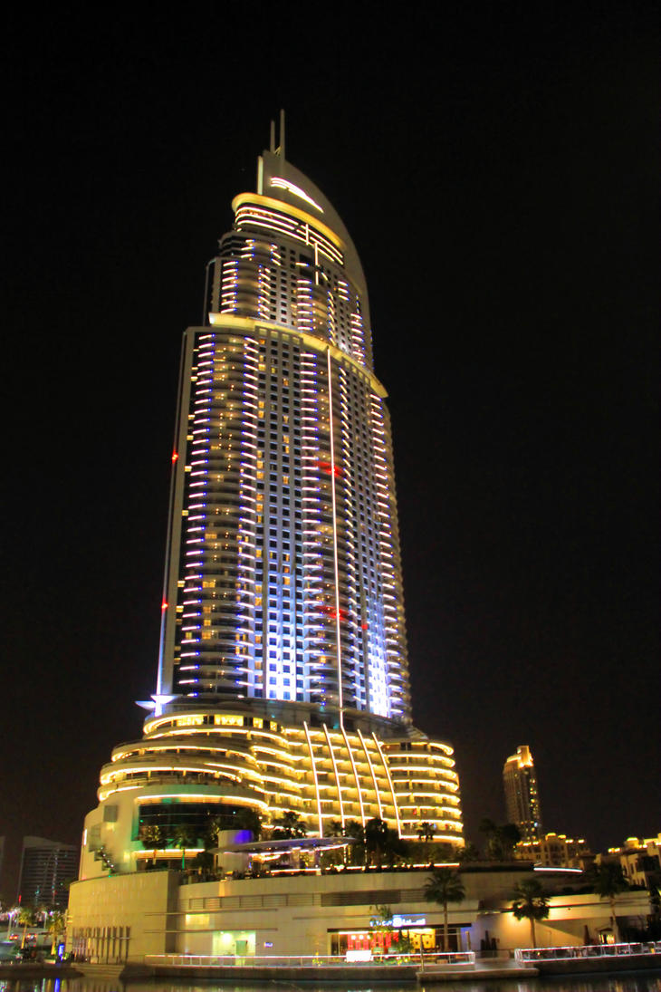 Dubai address downtown hotel 1 by giardqatar on deviantart for Best hotels in downtown dubai