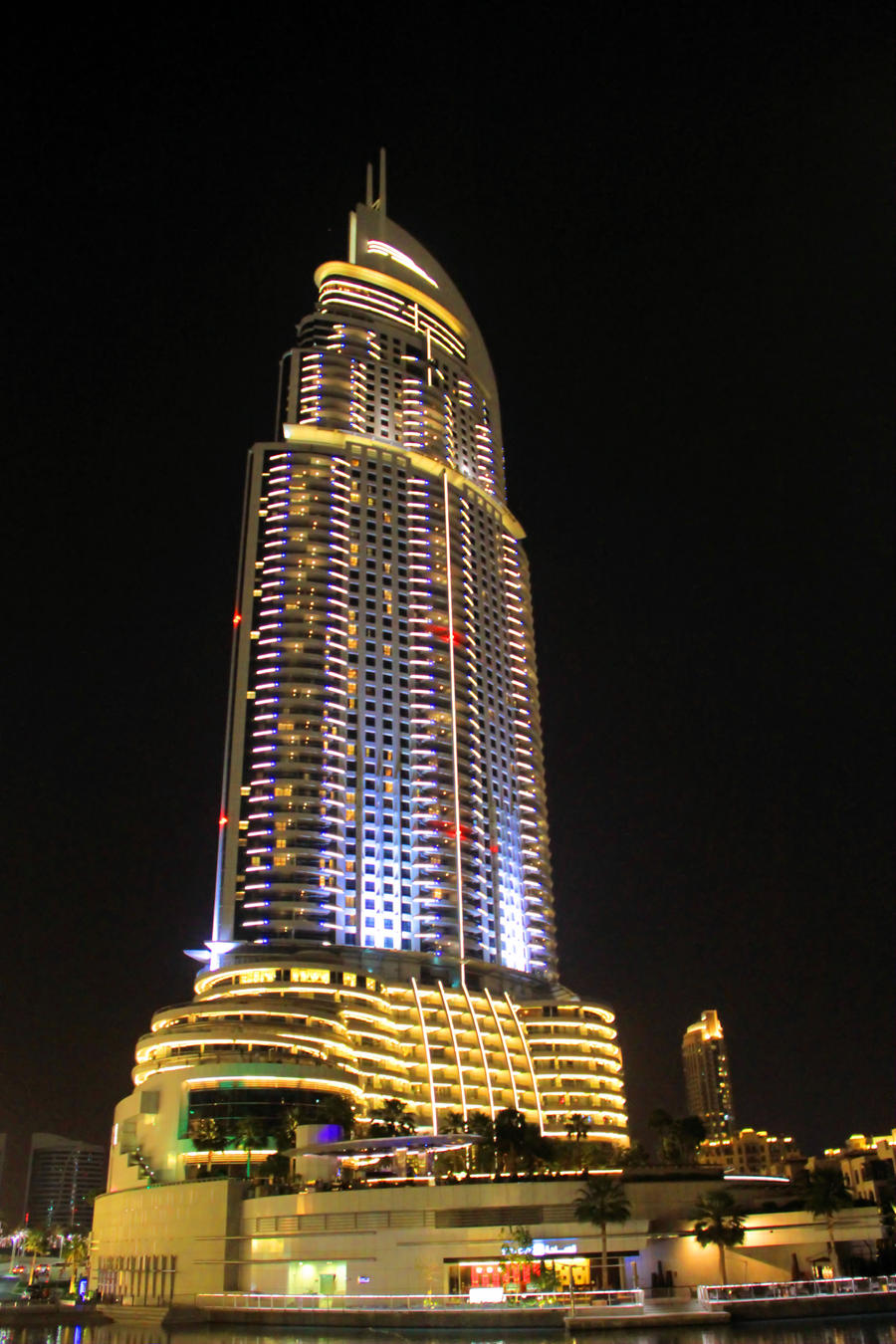 Dubai address downtown hotel 1 by giardqatar on deviantart for Address hotel dubai