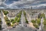 Arc de Triomphe - Top View 02