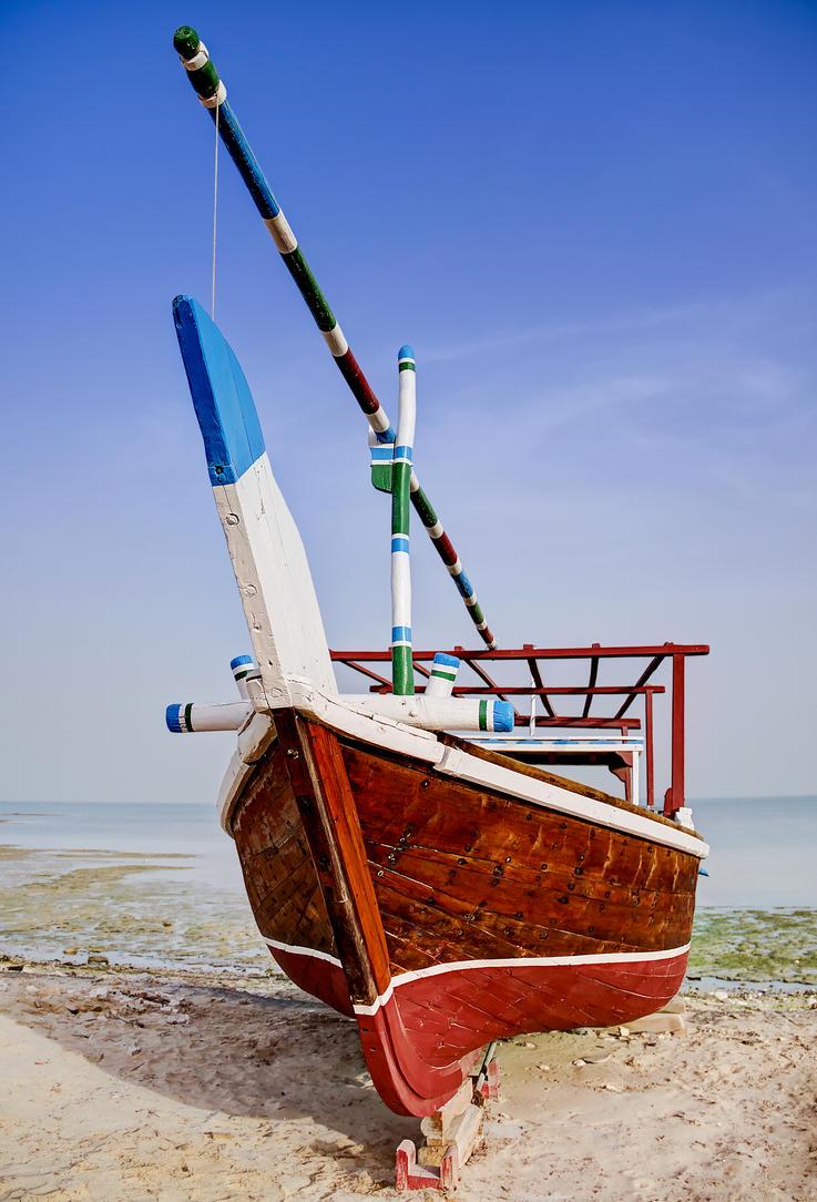 Qatar - Wakra - Dhow Boat 02 by GiardQatar