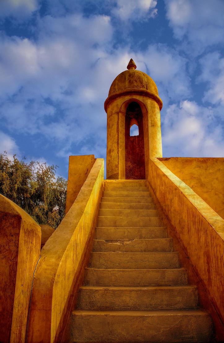 Qatar - Wakra Resort 03 - Stairway by GiardQatar