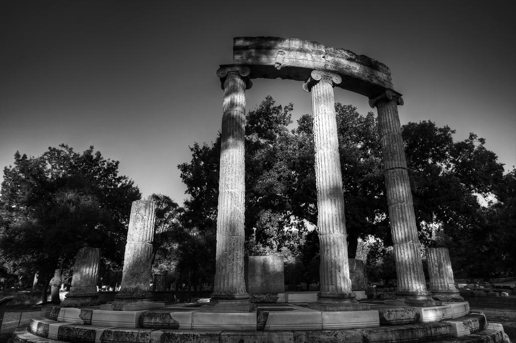 Greece - Olympia - Philippeion - 01 by GiardQatar