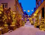Quebec City - Petit Champlain - Christmas - 01