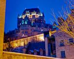 Canada - Quebec - Frontenac Castle 01