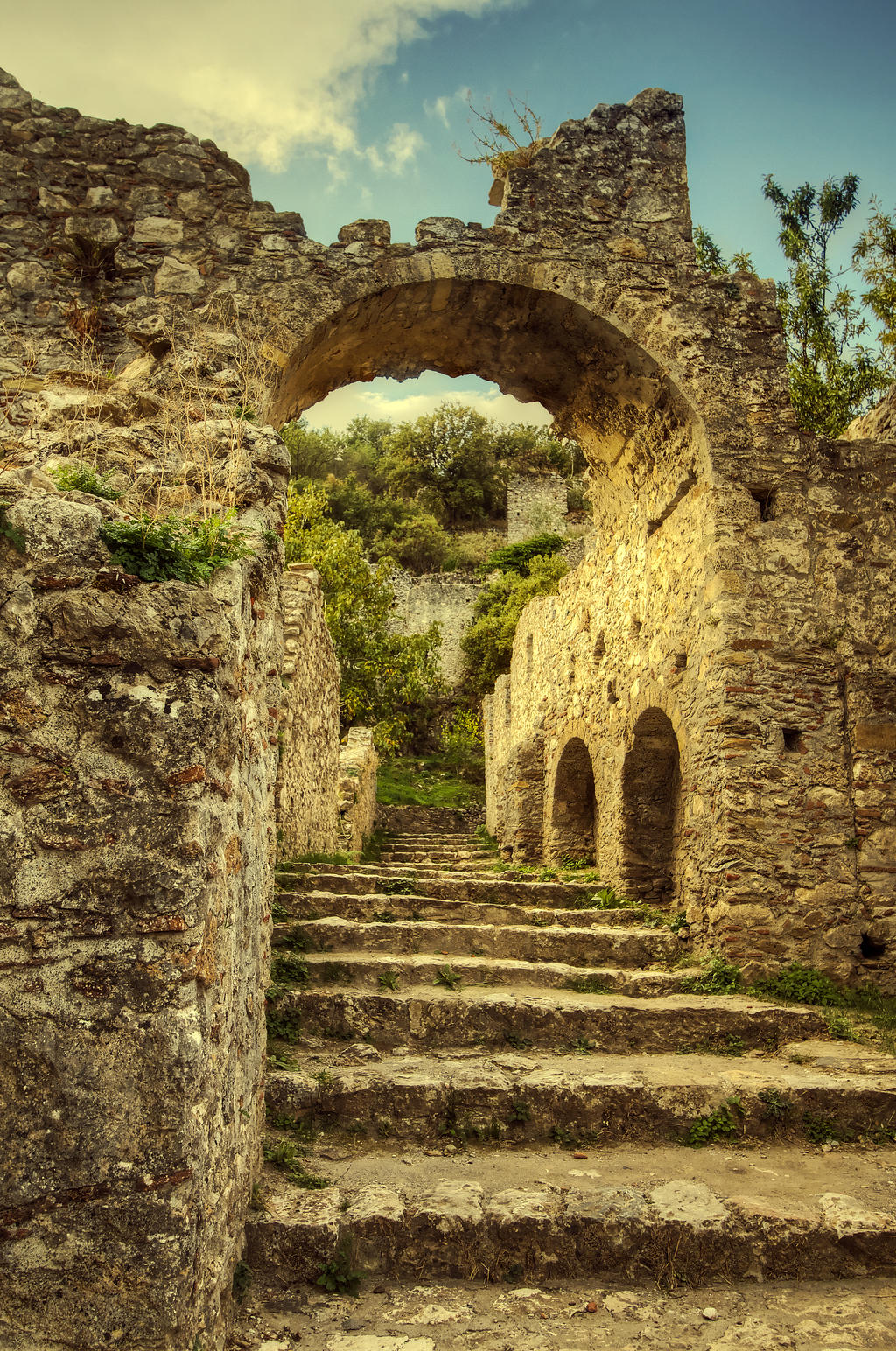 Greece - Mystras - 06 by GiardQatar