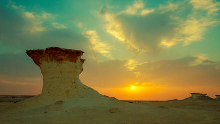 Qatar - Zekreet - Sunset - 02 by GiardQatar