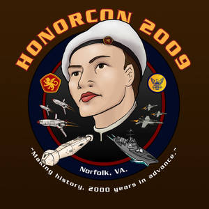 Honorcon 2009 T-Shirt Design