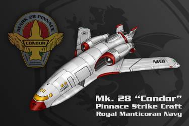 Mk. 28 Condor Pinnace by thomasthecat