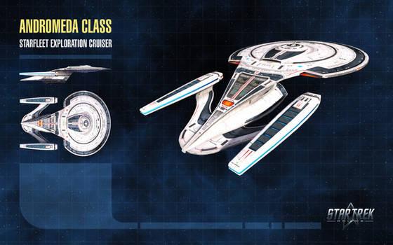 Andromeda Class Starship for Star Trek Online