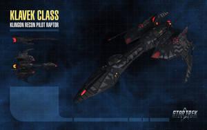 Klavek Class Starship for Star Trek Online by thomasthecat