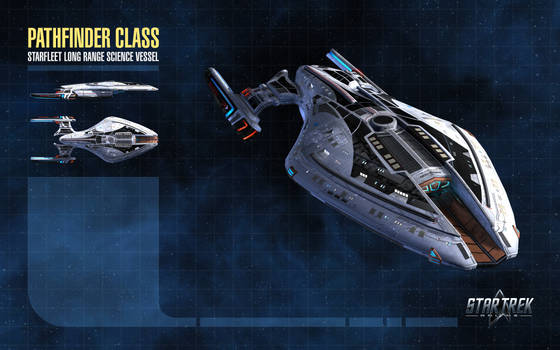 Pathfinder Class Starship for Star Trek Online by thomasthecat