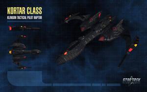 Kortar Class Raptor for Star Trek Online by thomasthecat