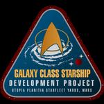 Starfleet Patch - Galaxy Class Development