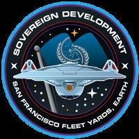 Starfleet Patch - Sovereign Class Development
