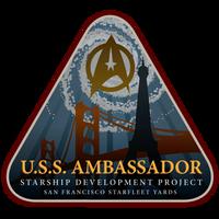 Starfleet Patch - Ambassador Class Development