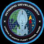 Starfleet Patch - Intrepid Class Development