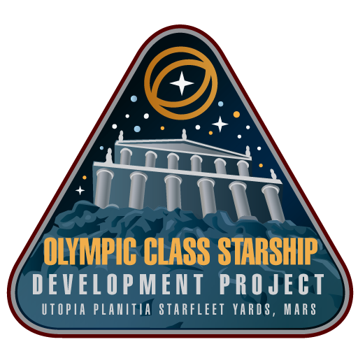 Starfleet Patch - Olympic Class Development by thomasthecat
