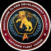 Starfleet Patch - Manticore Class Development