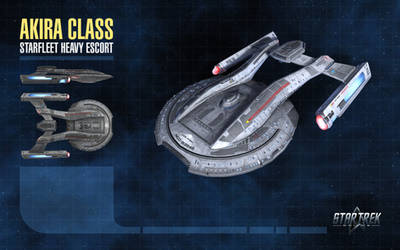 Akira Class Starship for Star Trek Online