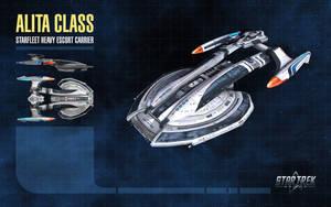 Alita Class Starship for Star Trek Online