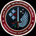 Starfleet Patch - Alita Class Development