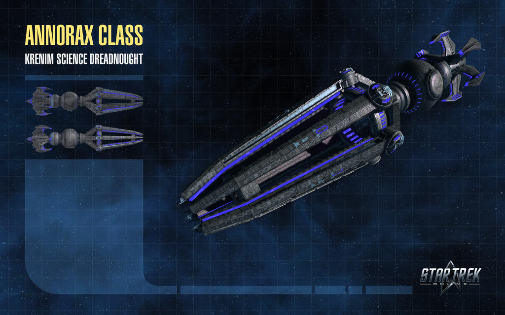 Annorax Class Starship for Star Trek Online by thomasthecat