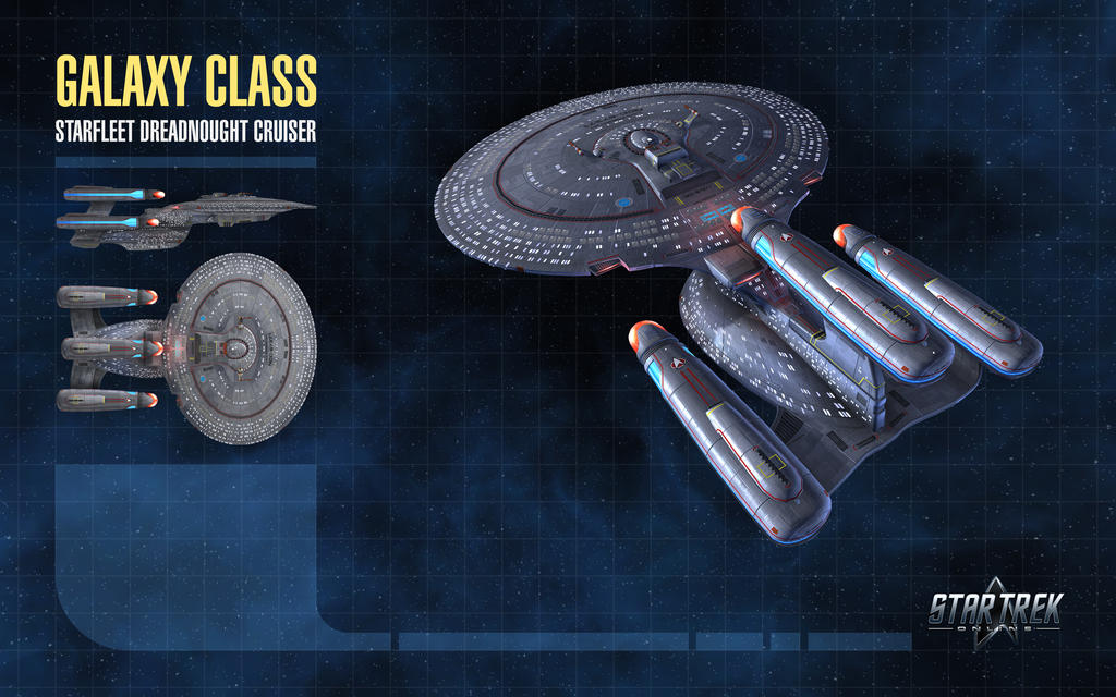 Galaxy Dreadnought for Star Trek Online by thomasthecat
