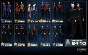 Star Trek Online - Starfleet Uniform Heritage