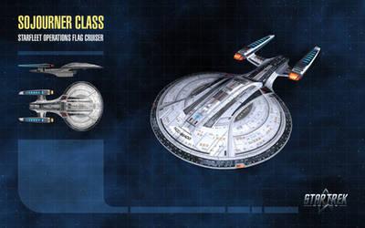 Sojourner Class Starship for Star Trek Online by thomasthecat
