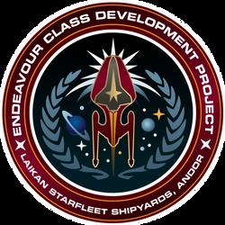 Starfleet Patch - Endeavour Class Development