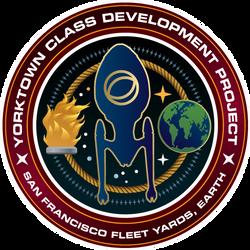 Starfleet Patch - Yorktown Class Development