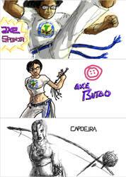 Capoeira Grafftii 6 by CapoeiraArt