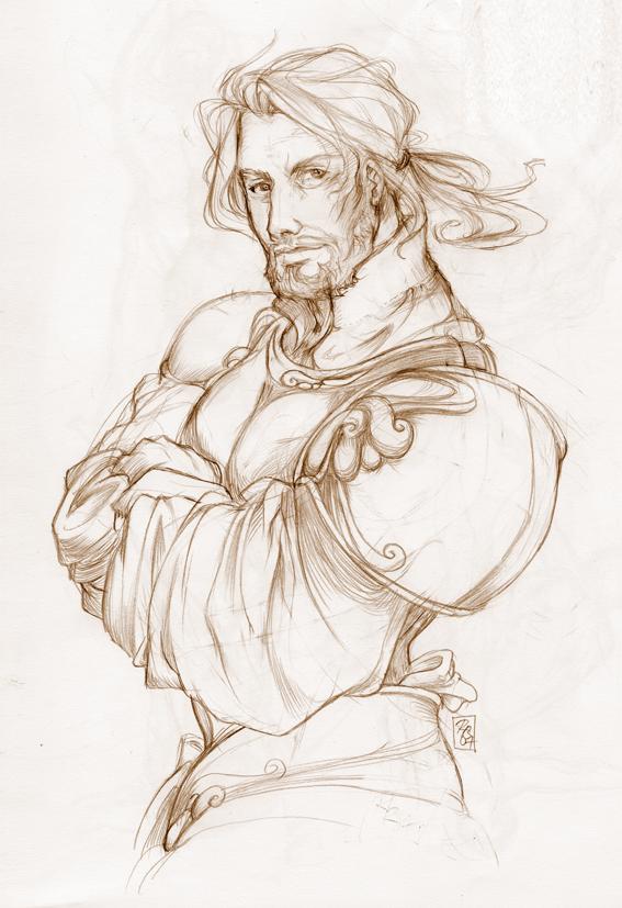 Awen Llywelyn  Knight_Sketch_by_YoshiyukiKatana