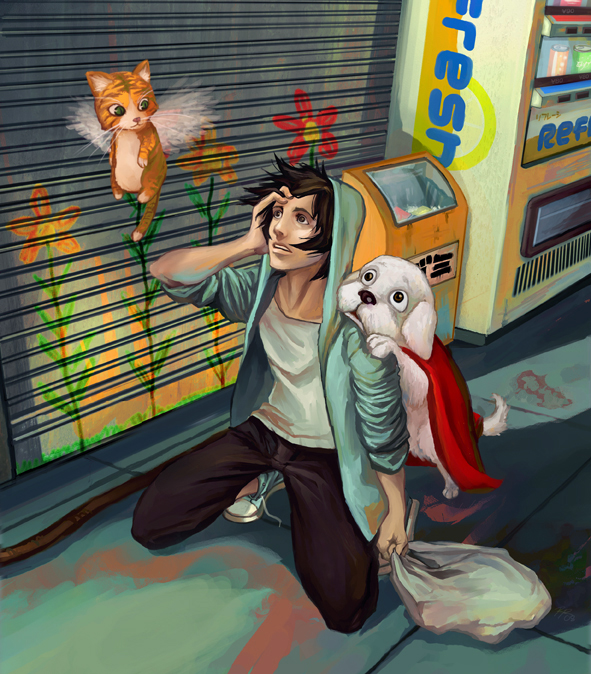 Miry Color Vomiting by YoshiyukiKatana