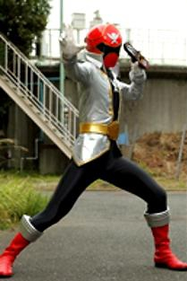 Gokai Change Go Red-Silver Gokaiger by MegaElekid947