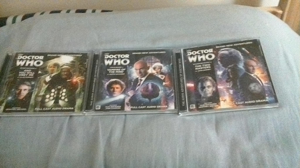 Doctor who the Two Masters Trilogy by MegaElekid947
