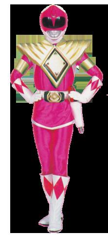 Pink Mighty Morphin Ranger Dragon Shield by MegaElekid947