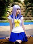 Kagami Hiiragi cosplay by fresia89