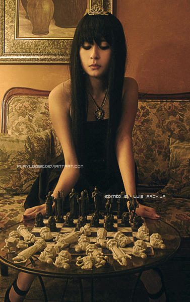 Chess doll