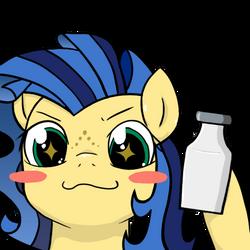 You. Me. Milk. Now.