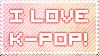 Kpop Stamp by nicolenikka13