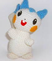 Pachirisu plush by W0IfDreamer