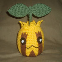 Sunkern Plushie by W0IfDreamer