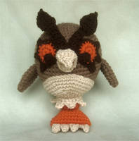 HootHoot Plushie by W0IfDreamer