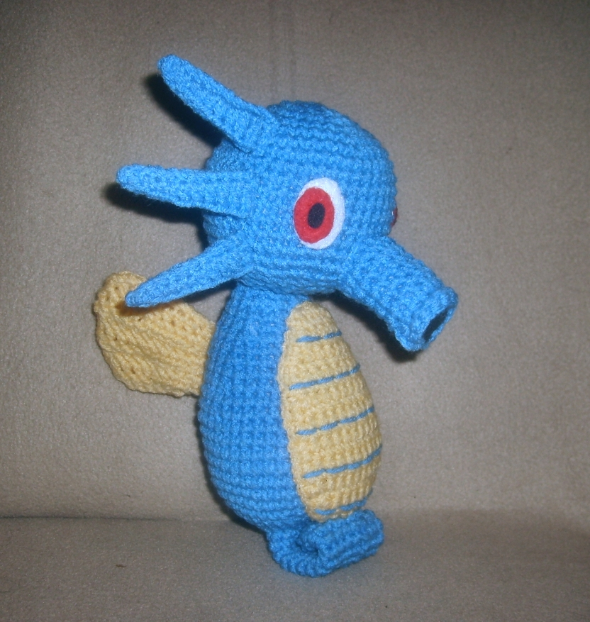 Horsea Plushie by W0IfDreamer on deviantART