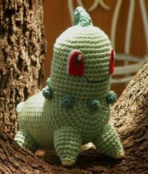Chikorita Crochet Plushie
