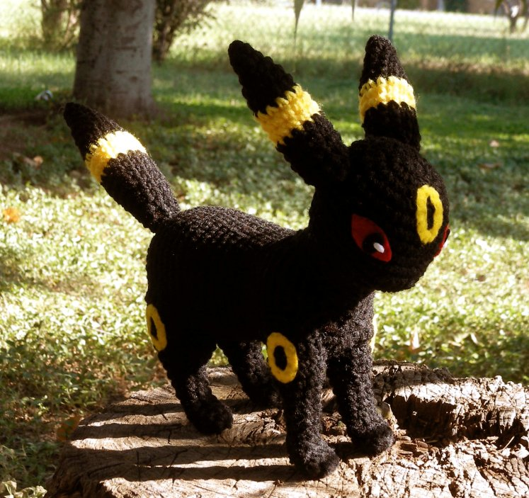 Crochet Umbreon : Umbreon Plushie by W0IfDreamer on DeviantArt