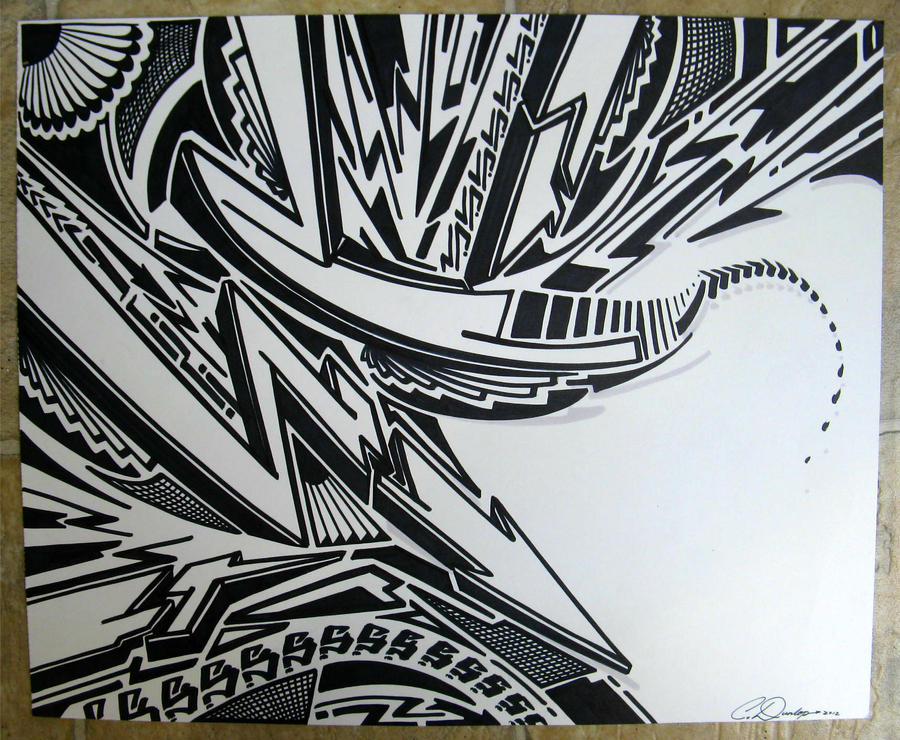 Sharpie Art by PinstripeChris